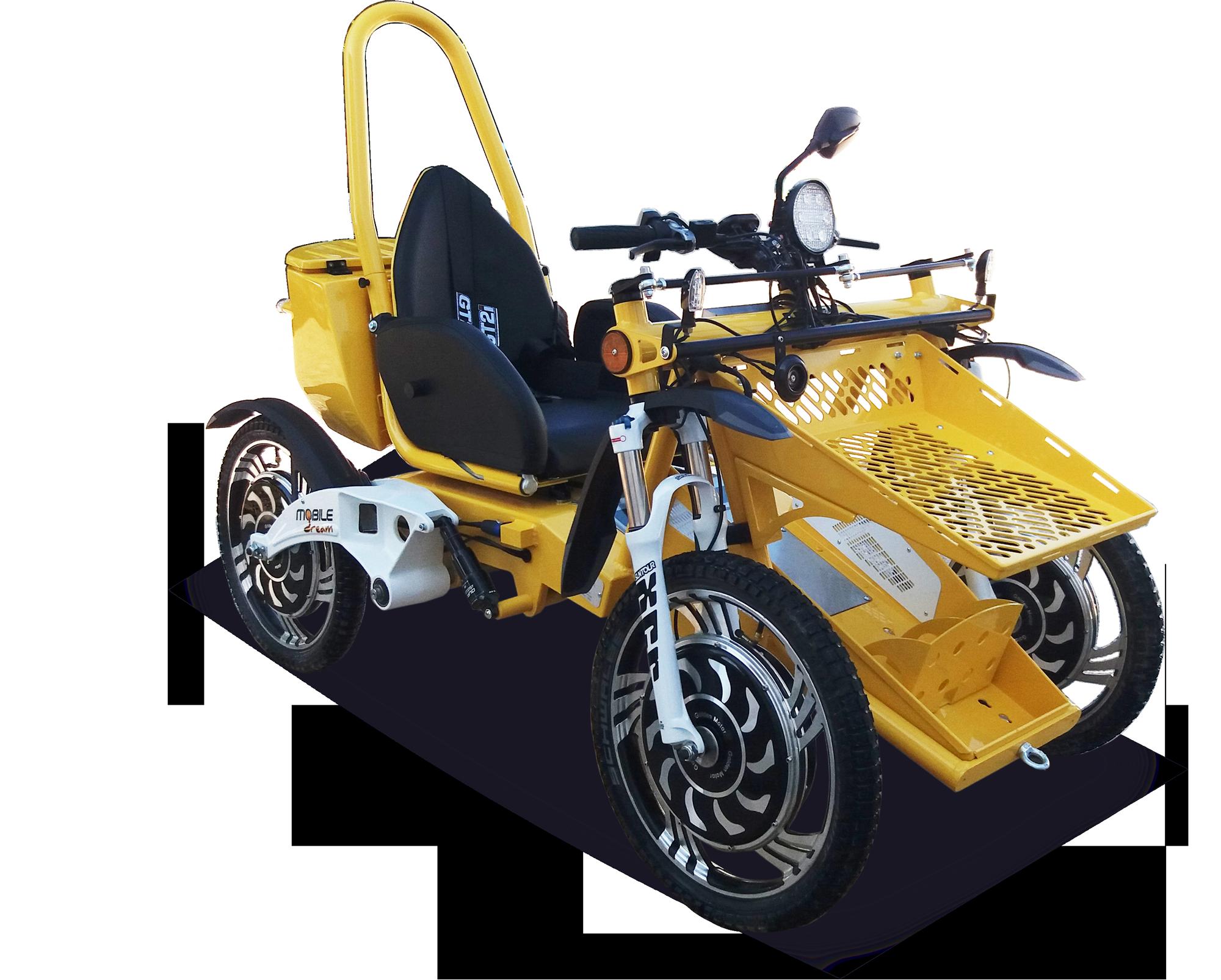 quad électrique handicap tout terrain