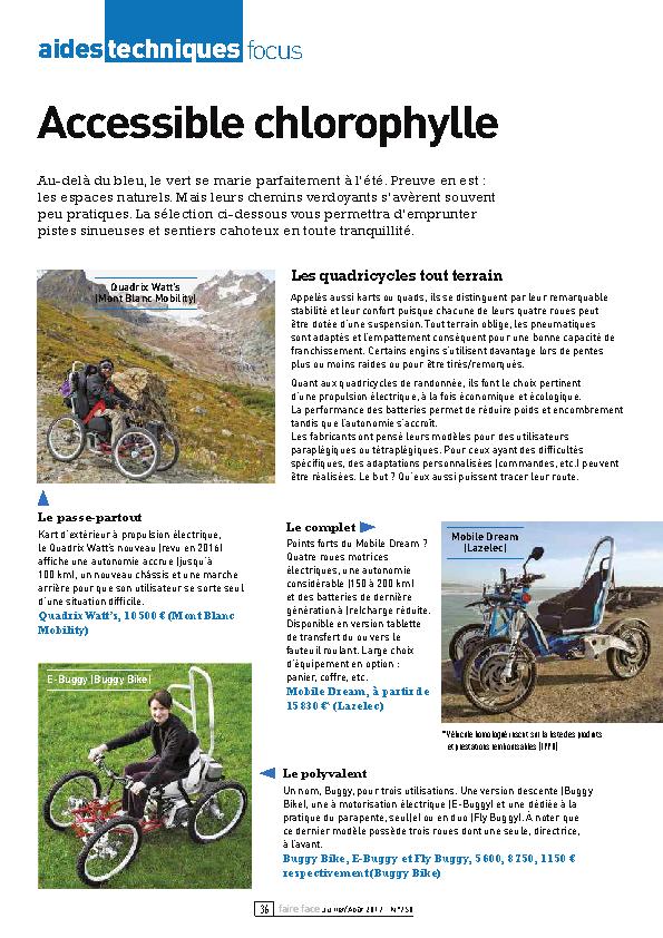 Aides techniques focus – Accessible chlorophylle FF750 juillet-août 2017 pp36-38